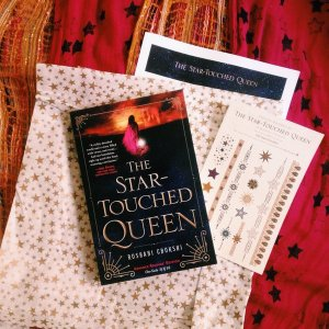 the star touched queen arc bookstagram pre-order campaign