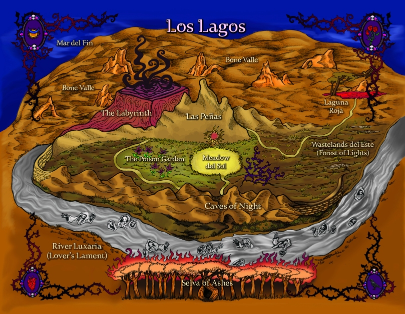 labyrinth lost zoraida cordova map